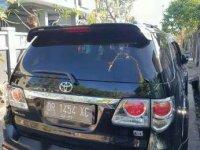 Jual Toyota Fortuner TRD solar matic 2012 mulus