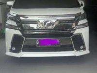 Jual Toyota Vellfire ZG 2.5 2015