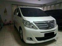 Jual mobil Toyota Alphard  G S C Package 2012