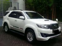 Jual mobil Toyota Fortuner TRD G Luxury 2013