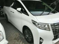 2016 Toyota Alphard G 2.5L dijual
