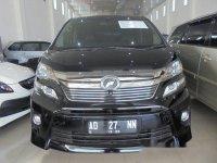 Toyota Vellfire ZG Premium Sound 2012