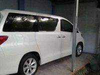 2012 Toyota Alphard G ATPM dijual