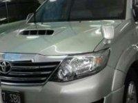 2012 Toyota Fortune V Dijual