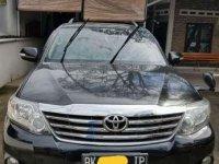 2012 Toyota Fortuner V Dijual