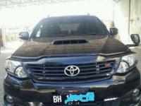 2014 Toyota Fortuner TRD Sportivo dijual