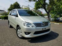 2013 Toyota Kijang Innova 2.4 Dijual