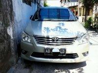 2013 Toyota Kijang Innova G 2.0 dijual