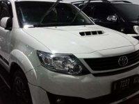 2014 Toyota Fortuner G TRD Sportivo dijual