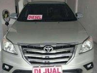 2014 Toyota Kijang Innova G Manual dijual