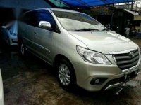 2014 Toyota Kijang Innova G AT dijual