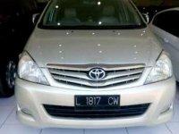 2009 Toyota Kijang Innova G 2.0 dijual