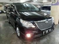 2014 Toyota Kijang Innova V Luxury dijual