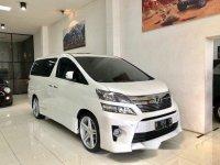 Toyota Vellfire 2.4 ZG Premium 2012 Dijual