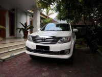 2012 Toyota Fortuner G Luxury dijual