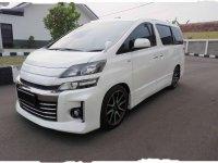 Toyota Vellfire ZG 2013 Dijual