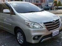 2014 Innova G MT Istimewa dijual