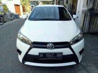 2014 Toyota Yaris E dijual