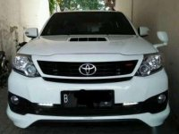 2014 Toyota Fortuner G TRD dijual