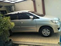 2012 Kijang Innova Type G 2.0 Manual dijual