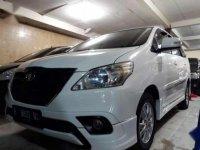 2014 Toyota Innova Diesel G Lux  dijual