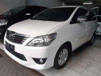 2012 Toyota Innova Putih Tipe G 2.5 Diesel Matic  dijual