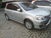 Toyota Etios G 1.2 2014 Dijual