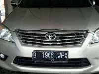 Toyota Innova G 2012 Manual Bensin dijual