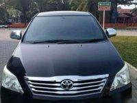 2013 Innova Type G Bensin Hitam Matic dijual