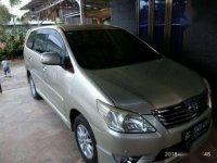 2011 Innova V Luxury Automatic dijual