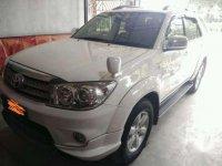 2011 Toyota Fortuner TRD Diesel Dijual