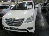 Toyota Kijang Innova 2.0 V Luxury 2014 dijual
