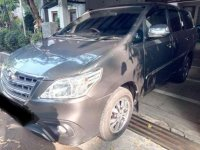 2015 Toyota Kijang Innova 2.0 G MT Bensin dijual