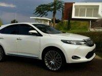 2014 Toyota Harier 2.0 NA Dijual