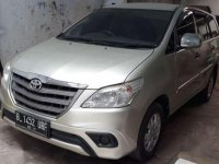 2014 Toyota Kijang Innova E Mesin dijual