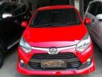 2017 Toyota Agya type G dijual