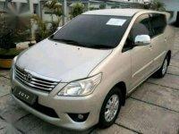 2012 Toyota Kijang Innova G 2.5 AT / Diesel dijual