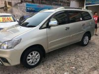 2014 New Kijang Innova G  Manual dijual