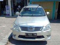 2012 Innova Type V  dijual