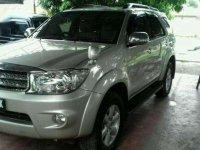 2011 Toyota Fortuner G Luxury dijual