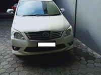 Innova G 2012 Matic Bensin Istimewa AB dijual