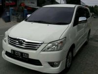 2012 Toyota Innova 2.0G Luxury Matic dijual