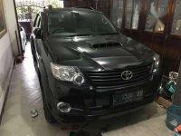 2015 Toyota Fortuner G 4x4 VNT dijual