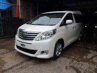 Toyota Alphard 2.4 G ATPM 2012 Dijual