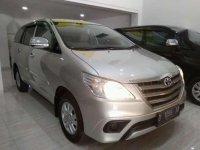 2014 Toyota Kijang Inova E MT Manual  dijual