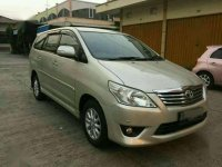 2012 Grand Innova 2.5 V (Diesel)  Manual dijual