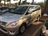 2012 Toyota Inova G Luxury dijual
