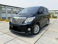 2014 Toyota Alphard 2.4 NA Dijual