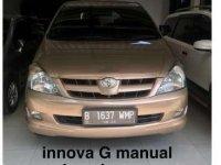 2005 Innova 2.0 G MT dijual