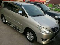 2013 New Grand Innova Solar Metic  dijual